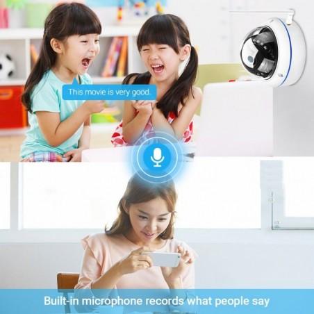 5MP Wifi Camera Icsee Onvif Draadloze/Bedrade Camera Audio Record E-mail Alert Xmeye Cloud Vandalismebestendig Waterdichte Outdo