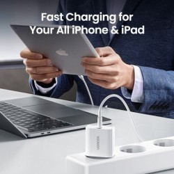 Ugreen Quick Charge 4.0 3.0 Qc Pd Charger 20W QC4.0 QC3.0 Usb Type C Fast Charger Voor Iphone 12 X Xs 8 Xiaomi Telefoon Pd Charg