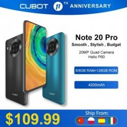 Cubot Note 20 Pro Quad...