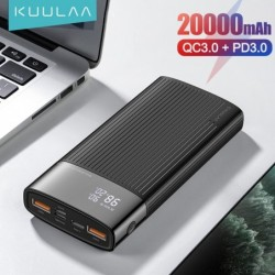 Kuulaa Power Bank 20000 Mah...