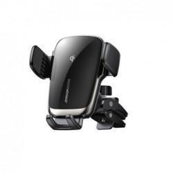 Joyroom 15W Qi Auto Telefoon Houder Draadloze Autolader Automatische Uitlijning Auto Mount Cd Air Vent Mount Autolader universel