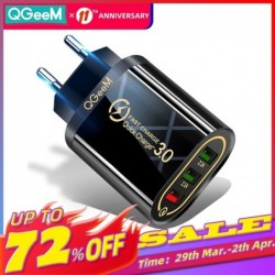 Qgeem Quick Charge 3.0 3...