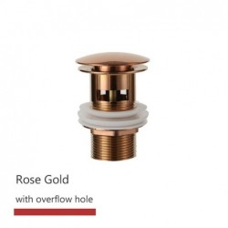Badkamer Basin Sink Pop Up Drain Stopper Badkamer Kraan Accessoires Messing Mat Zwart/Chrome/Rose Goud/Geborsteld goud