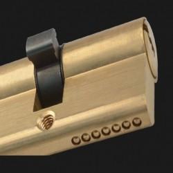 Deur Cilinder Bevooroordeeld Lock 65 70 80 90 115Mm Cilinder Ab Sleutel Anti-Diefstal Entree Messing Deurslot verlengd Core Uitg