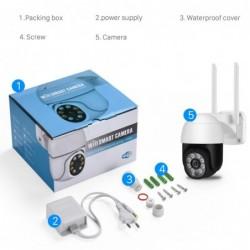 Besder 5MP Ptz Wifi Ip Camera 1080P 2MP Speed Dome Ai Security Camera Draadloze Onvif Audio Outdoor Waterdichte Ir kleur Night I